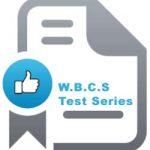 W.B.C.S test series